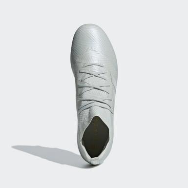 Calzado de fútbol Nemeziz 18.1 Soft Ground Gris Hombre Fútbol