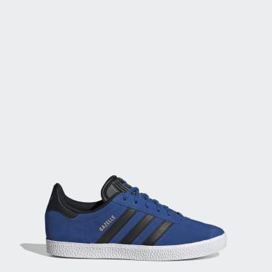Kinderen Originals Blauw Gazelle Schoenen