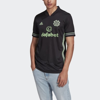 Football Black Celtic FC 20/21 Third Jersey
