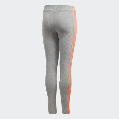 Tight Essentials 3-Stripes gris Adolescents Essentials