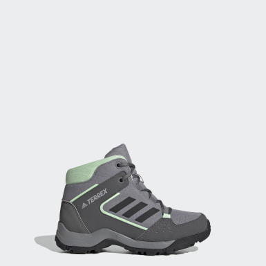 Children Outdoor Grey Terrex Hyperhiker Hiking Shoes