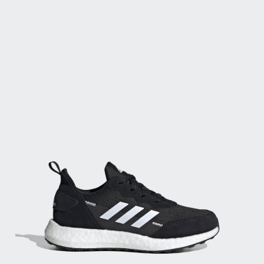 Youth Running Black RapidaLux S and L Shoes