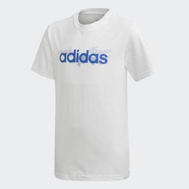 T-shirt Tasto Blanc Garçons Training