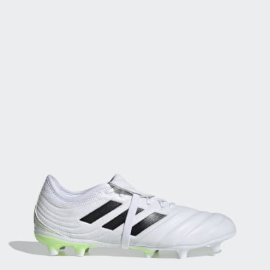ผู้ชาย ฟุตบอล สีขาว รองเท้าฟุตบอล Copa Gloro 20.2 Firm Ground