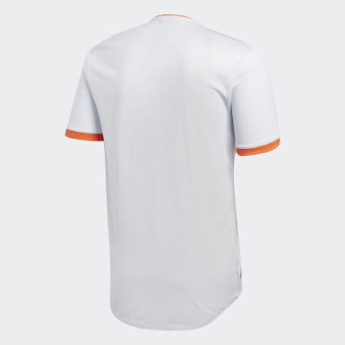 Männer Fußball Spanien Auswärtstrikot Authentic Weiß