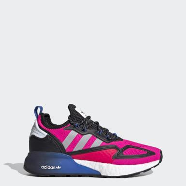 ผู้หญิง Originals สีชมพู รองเท้า ZX 2K Boost