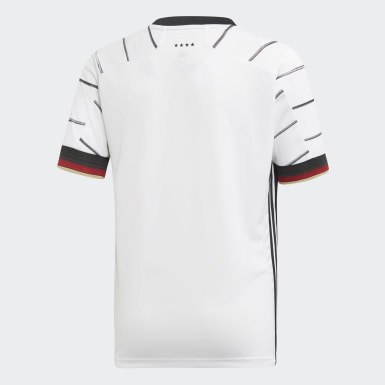 Youth Soccer White Germany Home Jersey