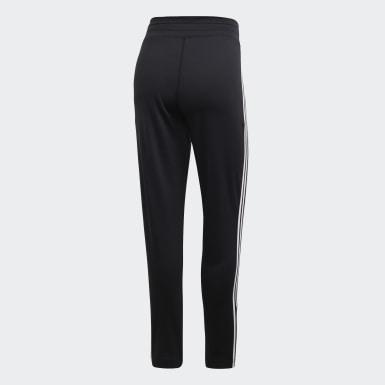 Kvinder Udendørshockey Sort Design 2 Move 3-Stripes bukser