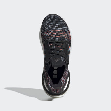 Youth Running Black Ultraboost 19 Shoes