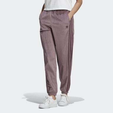 Women Originals Purple Cuffed Pants