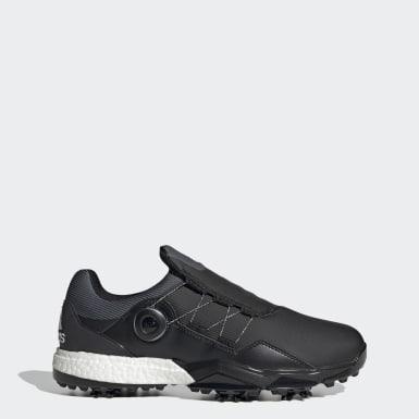 Men Golf Grey Adipower 5ER Boa Golf Shoes
