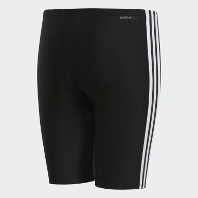 Jammer de natation 3-Stripes Noir Garçons Natation