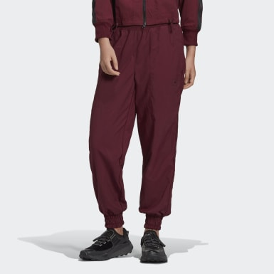 Dames adidas by Stella McCartney Bordeaux adidas by Stella McCartney College Joggingbroek