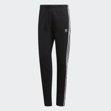 Ženy Originals černá Sportovní kalhoty Cuffed