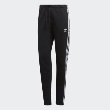 Track Pants Cuffed Nero Donna Originals