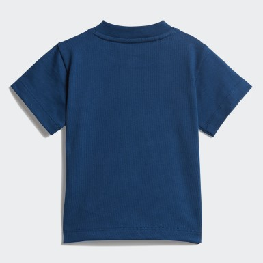 Boys Originals Blå Trefoil Tee
