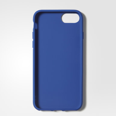 Etui na iPhone 8 Moulded Suede Niebieski