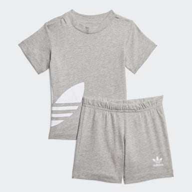 Completo Big Trefoil Shorts Tee
