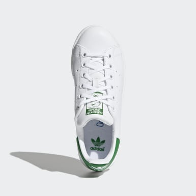 Tenis Stan Smith Blanco Niño Originals