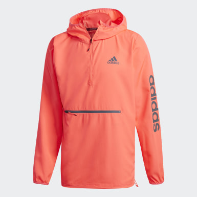Herr Löpning Rosa Activated Tech Primeblue Windbreaker