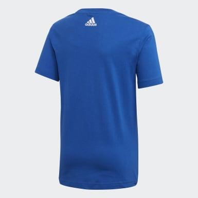 Polo Sport ID Lineage Azul Niño Training