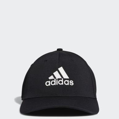 Men Golf Black Tour Hat