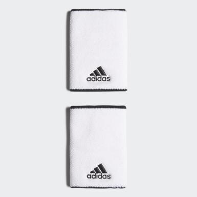 Muñequera de Tenis Grande Blanco Tenis