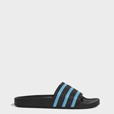 Men Originals Black Adilette Slides