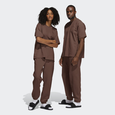 Originals Brown Pharrell Williams Basics Sweat Pants (Gender Neutral)