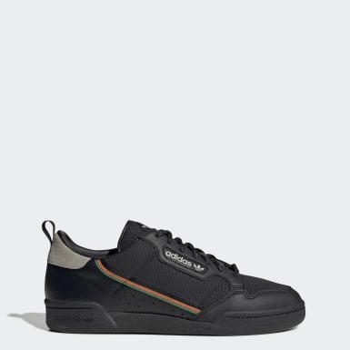 Kvinder Originals Sort Continental 80 sko
