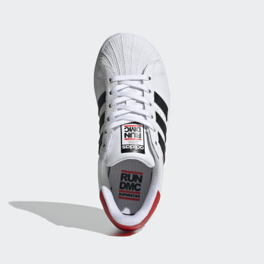 Tenis Superstar Run-DMC Blanco Niño Originals