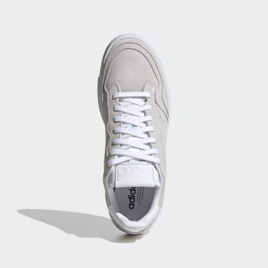 Men's Originals White Supercourt Shoes