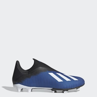 Fotboll Blå X 19.3 Firm Ground Boots