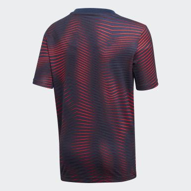 Camiseta Local Prepartido FC Bayern Azul Niño Fútbol