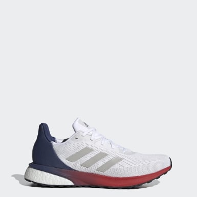 Men Running White Astrarun Shoes