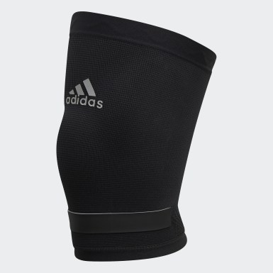 Training Black Performance Climacool Knee Support Large