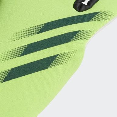 Fußball X 20 Training Torwarthandschuhe Grün