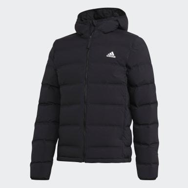 Männer Urban Outdoor Helionic Soft Hooded Daunenjacke Schwarz