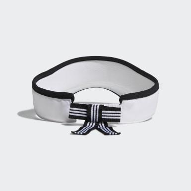 ผู้หญิง กอล์ฟ สีขาว หมวกไวเซอร์ Cool UV