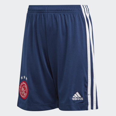 Youth 8-16 Years Football Blue Ajax Amsterdam Away Shorts