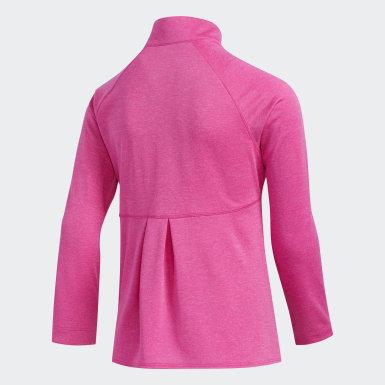 Youth Golf Heathered Knit Jacket