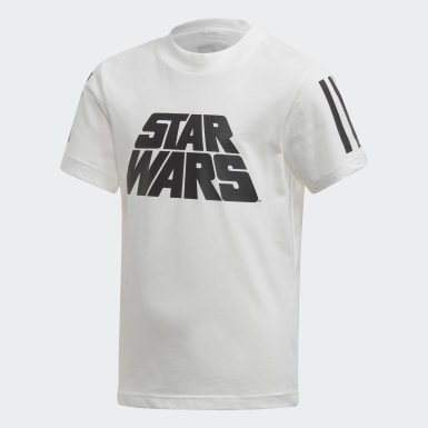 Jungen Training Star Wars Sommer-Set Weiß