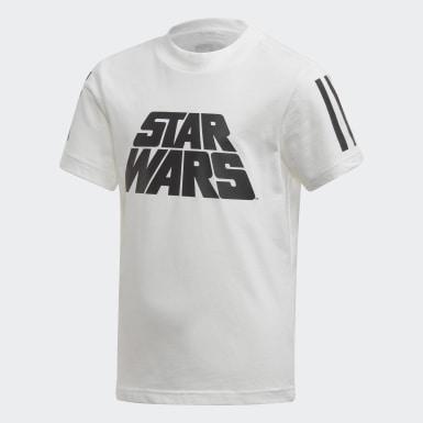 Kids 4-8 Years Training White Star Wars Summer Set