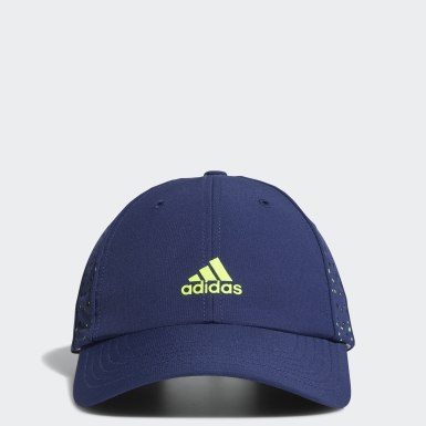 Women Golf Blue Performance Perforated Cap