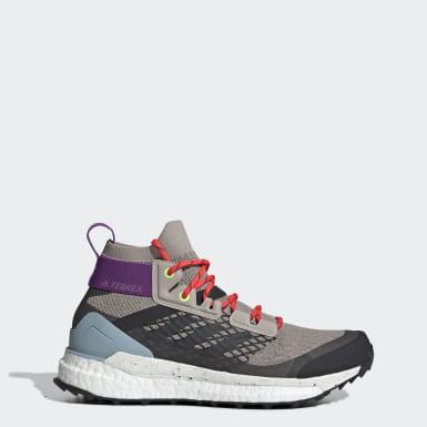 Chaussure de randonnée Terrex Free Hiker Beige Femmes TERREX