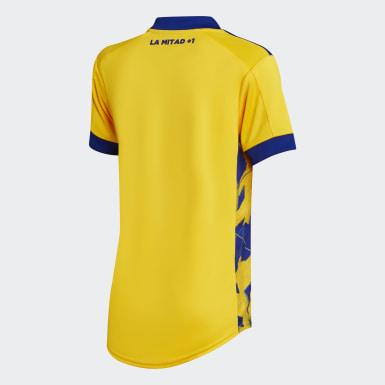 Tercera Camiseta Boca Juniors 20/21 Amarillo Mujer Fútbol