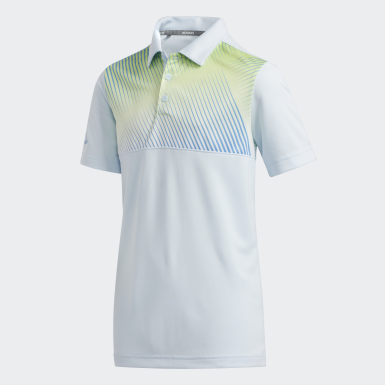 Gradient Stripe Polo Shirt