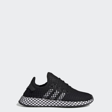 Youth 8-16 Years Originals Black Deerupt Runner Shoes