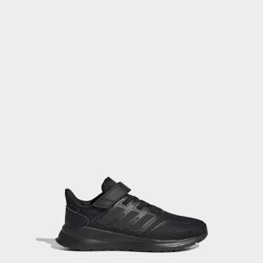 เด็ก วิ่ง สีดำ รองเท้า Run Falcon