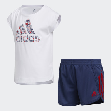 Children Training Soccer Shorts and Tee Set